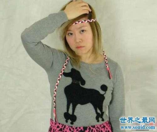 网红奋斗姐徐燕的成功之路,做模特界的一朵奇葩