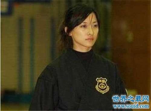 林姿妤号称台湾最美保镖 也曾是马英九的御用保镖