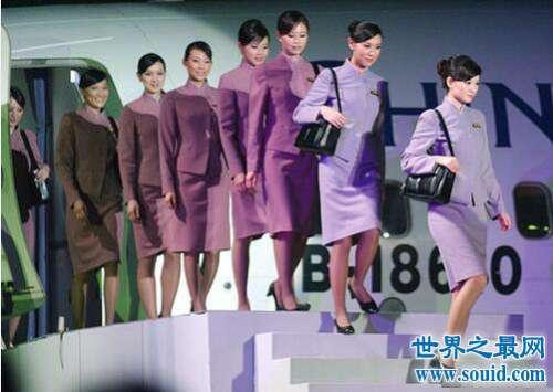 全球十大顶级空姐,各风格皆是极品享受