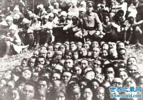 台湾雾社事件真相,战败全族上吊自杀(101颗头颅)