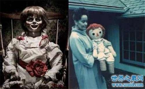 安娜贝尔真实照片,现实中是一个可爱的布偶娃娃
