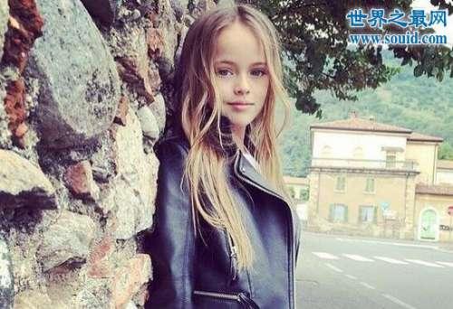 世界上最漂亮的女孩,年仅十一岁的俄罗斯女孩