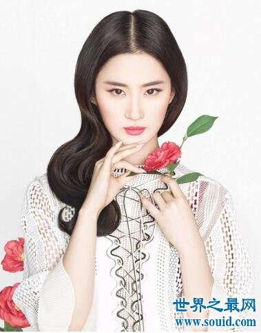 中国十大气质美女,刘亦菲范冰冰倒数(第一给了她)