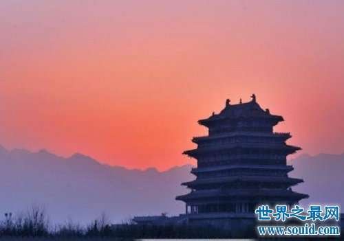 中国四大名楼,看古人恢弘巧妙地建筑艺术