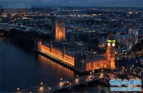 迷人的英国首都伦敦 一座现代与艺术结合的城市