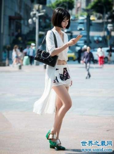 街拍长腿美女图片大合集,个个都是大长腿(腿控请进)