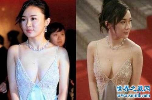 霍思燕的胸围有多大,34D丰满巨乳全裸照片爆红