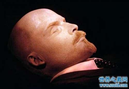 列宁遗体,至今保存完好如沉睡之人