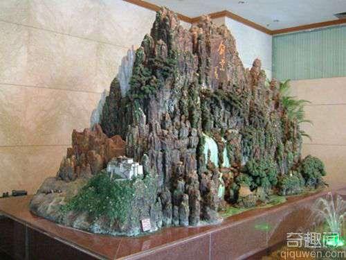 世界上最大的陶塑作品(室内-):再现祖国锦绣山河