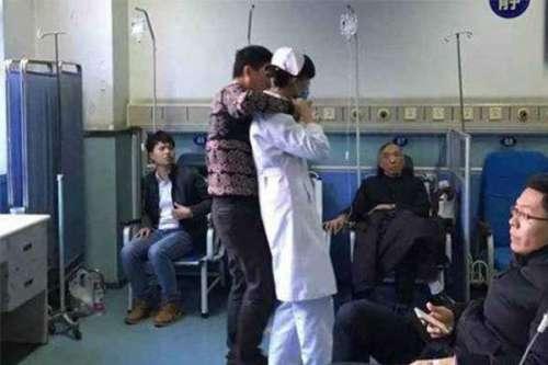 女护士被患者劫持,所幸未受到任何伤害患者已被制服