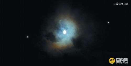 """昨夜星空迷人""""双星伴月"""" 6月11日土星和心宿二将再次上演"""