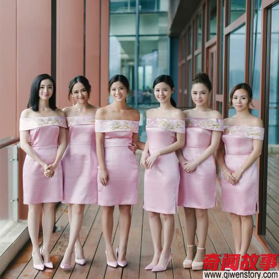 Angelababy伴娘团礼服最丑被批心机重?赞陈妍希最贴心