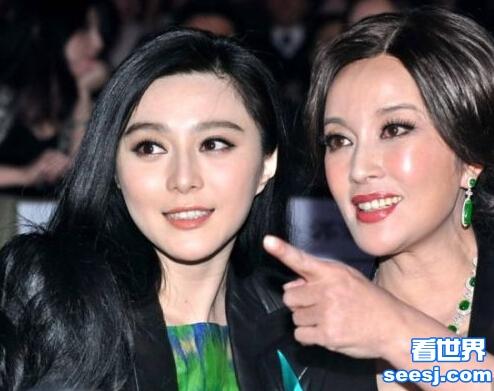 范冰冰敬佩刘晓庆是水样女人 网友:两代武则天气场够强