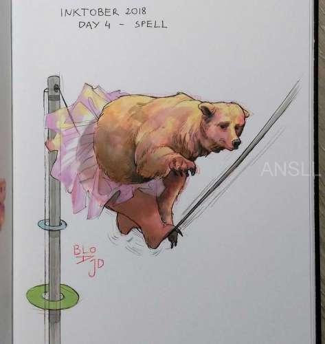 31天31幅画,艺术家用插画为我们描述了动物们正在遭受的苦难