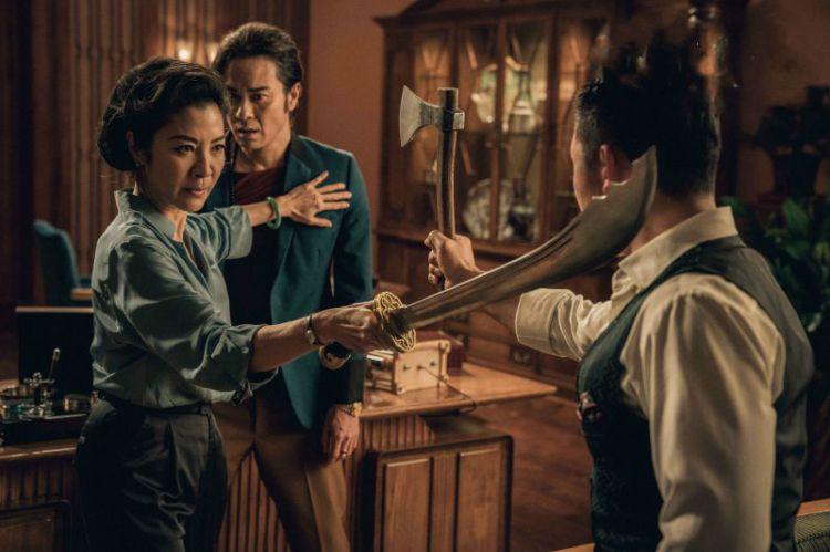 《叶问外传》杨紫琼两场打戏凶猛,柳岩配得上张天志这样的硬汉