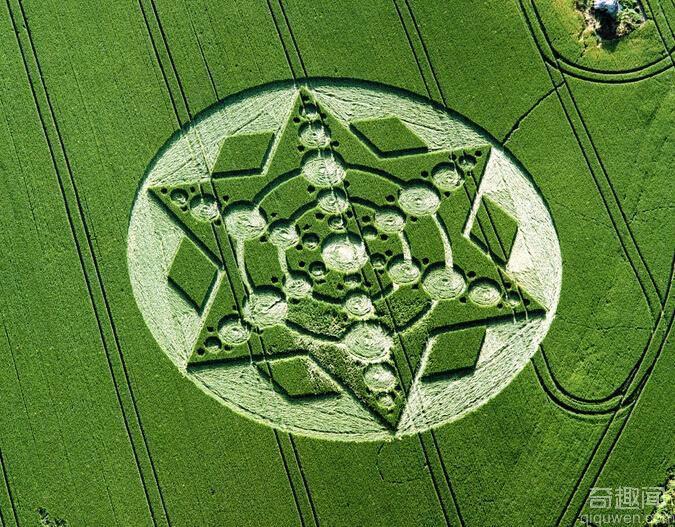 麦田怪圈之谜已经成为地球谜团中经典的成员之一