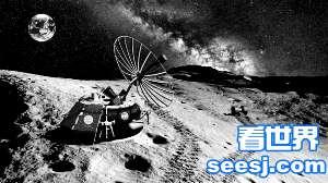"""美国首个""""私人奔月""""计划:将带上骨灰奔月球"""