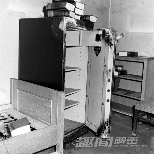 历史照片:柏林希特勒的地下室