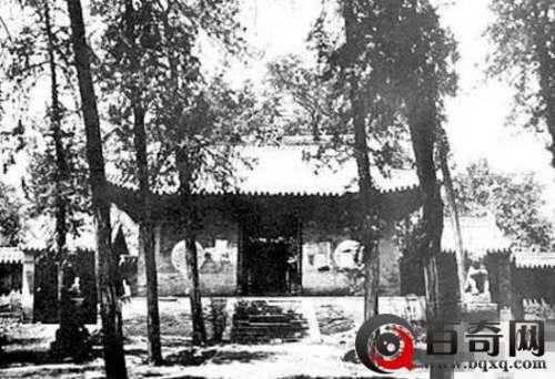 少林寺95年前照片曝光 看后心惊