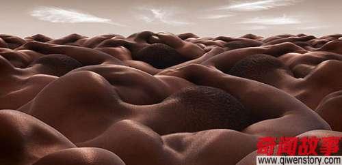 这些照片看上去是一望无际的沙丘,仔细看你就会发现另有奥秘!