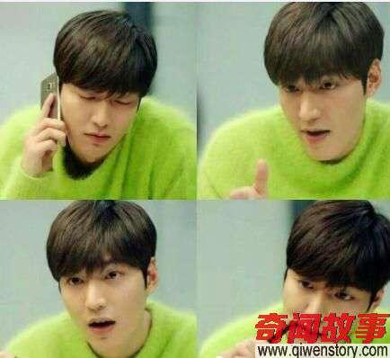 李敏镐和杨洋同穿绿毛衣,两人的气质差距怎么这么大呢_0