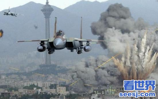 导弹再次来袭, 叙军完美反击! 一架美式战机被击落
