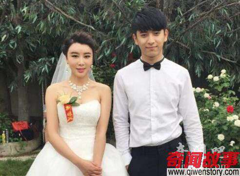 陈若轩结婚新娘身材火辣 粉丝哭晕了!_0
