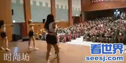 慰劳军队演出是不是真的?韩国女团去部队慰问演出身材相当火爆