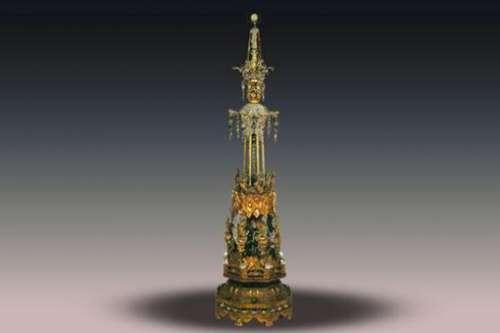 佛教艺术品真珠舍利宝幢是什么-珍贵在哪里-