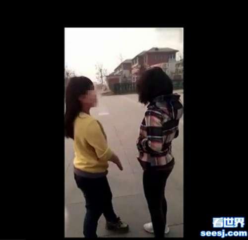 少女被扇14记耳光内衣被扒网友校园暴力有人管吗1