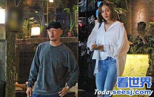 王棠云余文乐现身台北街头产后不到2月身材已恢复
