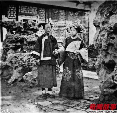 清朝时的中国真实照片别被宫斗剧里的格格皇妃给骗了