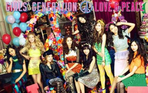 韩国少女时代唱片封面在日本已经过时
