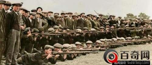 一战时期英军官兵珍贵老照片