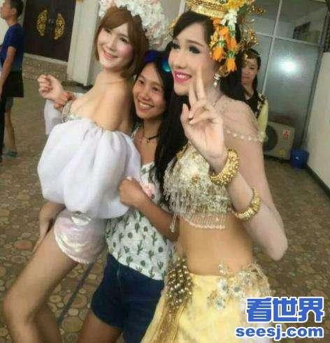 为什么人妖可以那么漂亮泰国人妖变身前后对比照