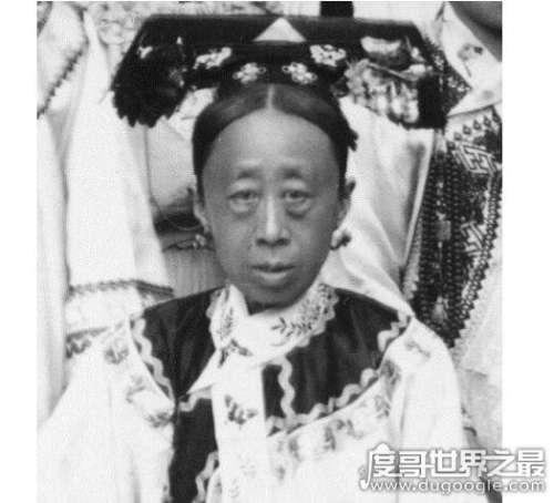 荣寿公主的真实老照片,皮肤黑又显老(看起来十分的丑)