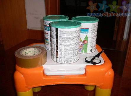 (图文)奶粉罐的妙用 前世今生你还认得出来吗