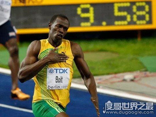 博尔特200米世界纪录19秒19,至今无人打破(共获得21枚金pái)