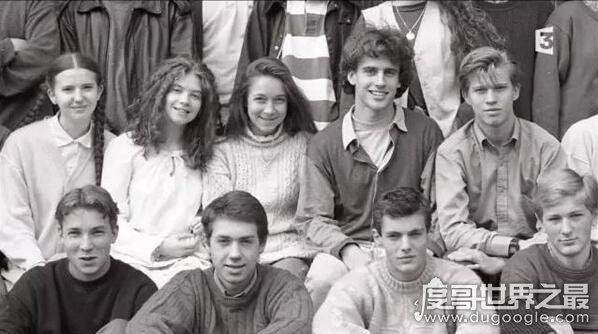 布吉丽特年轻时照片曝光,15岁马克龙对其一见钟情(法国第一夫人)