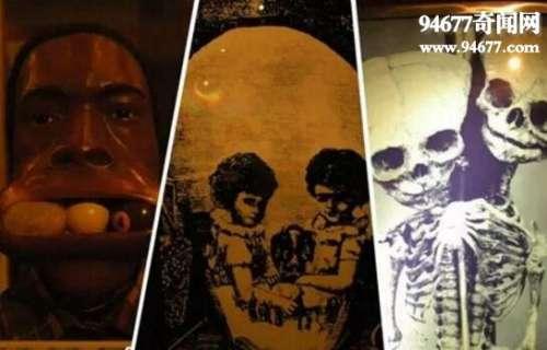超惊悚的泰国恐怖博物馆,最畸形变态的人体收藏