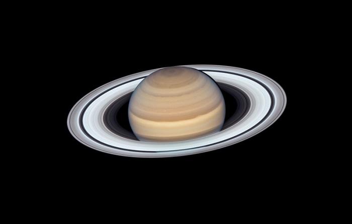 哈伯望远镜揭土星zuì新照片