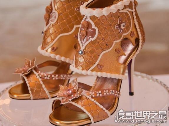 世界上zuì细高跟鞋,直径0.1厘米的高跟鞋你见过吗(组图)
