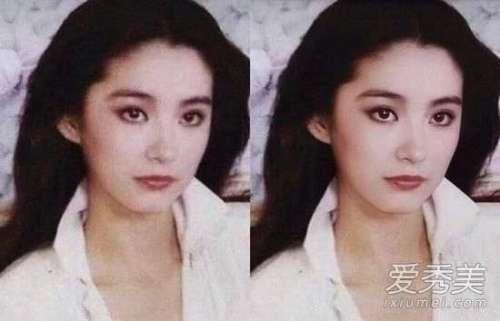 AI修复的林青霞照片曝光颜值惊为天人林青霞年轻时有多美