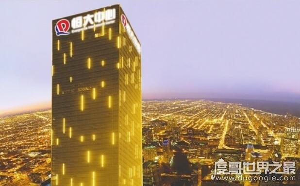 2019年中国房地产排名,恒大跻身世界500强(总资产过万亿)