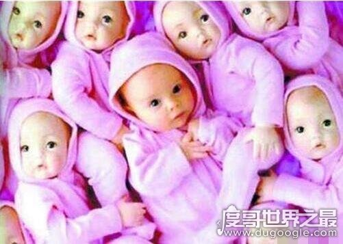 多胞胎世界纪录,意大利一孕妇生下15胞胎(堪称zuì牛妈妈)