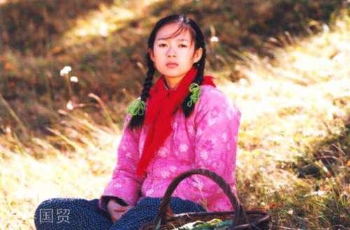 章子怡20年前清纯旧照曝光凭借我的父亲母亲走红