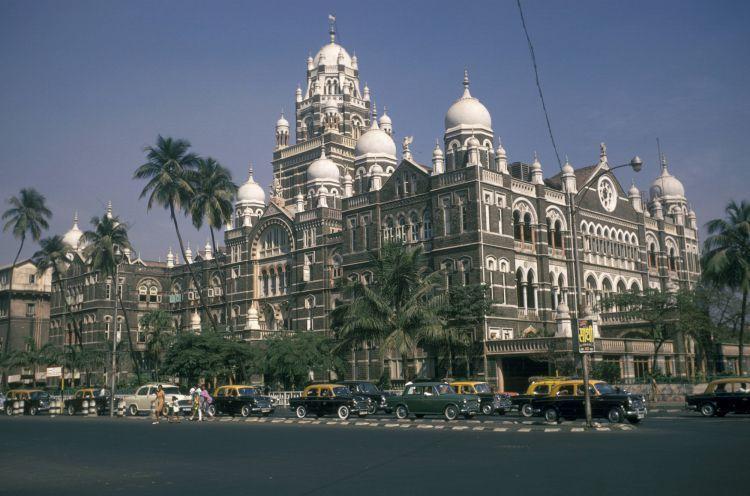 老照片1968年的印度孟买感觉比上海还要繁华