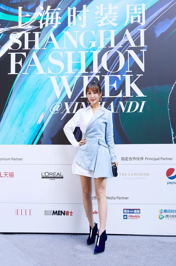 胡雯月受邀参加2020春夏上海时装周