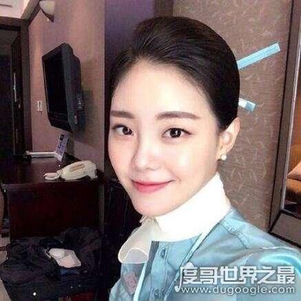 最美韩国空姐郑素拉,改行做网络主播(收入是原来的10倍)