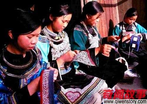 水族马尾绣最古老的刺绣艺术